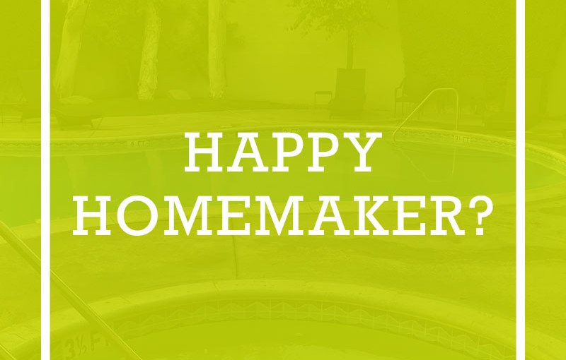 Happy Homemaking?